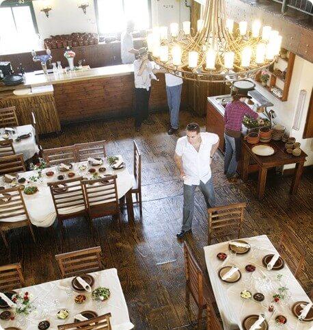 ארוחה במסעדת קאת בלו